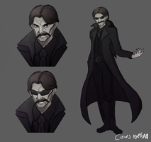 Vlad the Impaler / Count Dracula  ~ Modern Concept by CaiusNelson