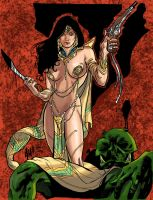 Dejah Thoris by Inhuman00
