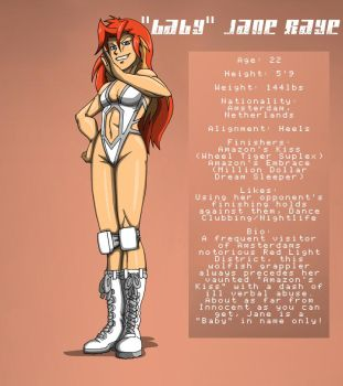 'Baby' Jane Raye Bio 1.0 by WAfan