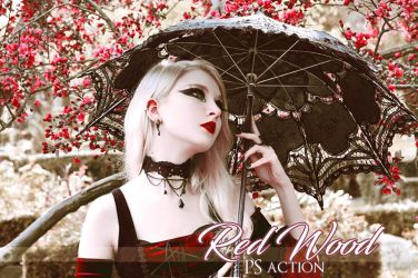Red woods action by lblacksphynx