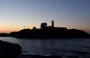 At Sunrise, Nubble Light 4 by Miss-Tbones
