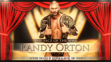 Randy Orton Old Collaboration with AA by HTN4ever