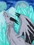 Ice Dragon by silvershadoww