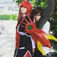 Rias Gremory e Issei Hyoudou cosplay-HighSchoolDxD by debb92