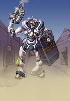 Policebot by Bristow-Bailey