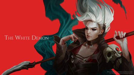 The White Demon by Nastya-Lehn