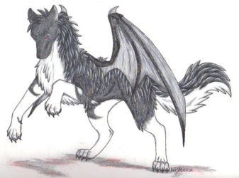 Demon Wolf by LifesATease
