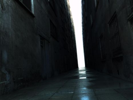 wet Alley by ChrRambow