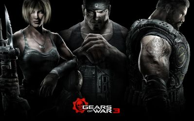 Gears of War 3 Widescreen by Namelessv1