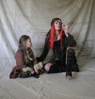Pirate captain and Child 6 by mizzd-stock