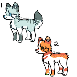 Dog Adoptable NEW SET PRICE [ 1/2 OPEN ] by TangerineAdopts