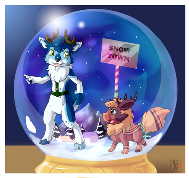 Commission .: This way :. by Icandoittoo