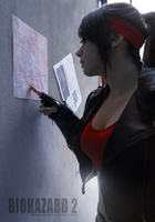 Claire Redfield Raccoon City map by CodeClaire