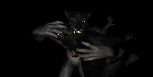 MMD Newcomer Skyrim Werewolves + DL by Valforwing