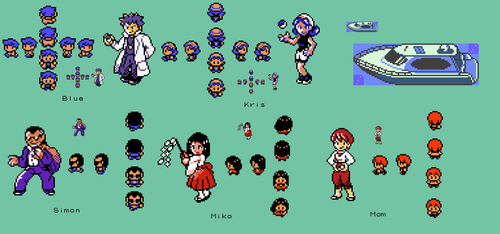 Pokemon Prism: Unused Content by Megaman-Omega