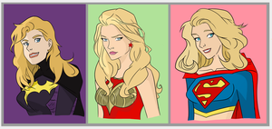 Blonde Trinity by Jeanbiscuit