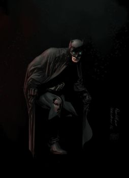 Batman by Paul Moore - colors by Biram-Ba