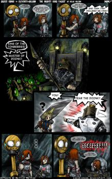 Fancomic-The Mighty King Faust by spookydoom