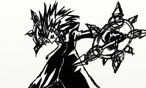 Axel First Sketch by l3xxybaby