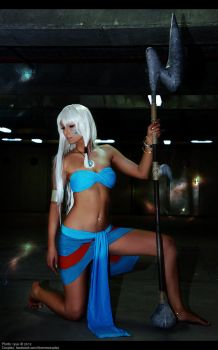 Kida - Disney Atlantis - Warrior Princess by LicorneZsu