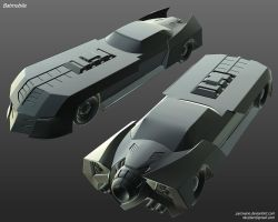 Batmobile by Pyroxene