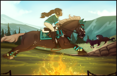 Through the Fire and Flames Bitches | Obstacle 4 by SpytFyre-Ranch