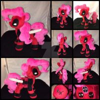 MLP 10 in Pinkie Pool w/ accessories :Commission: by RubioWolf