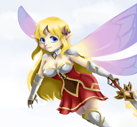 ever wing - (alice) Bring It Monsters by 12luigi