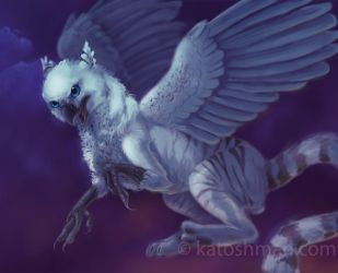 White Gryphon by kalicothekat