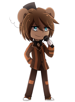Chibi Freddy by Kizy-Ko