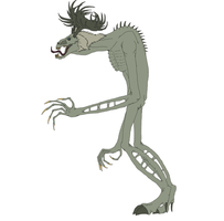 Moonshire wendigo by Redspets