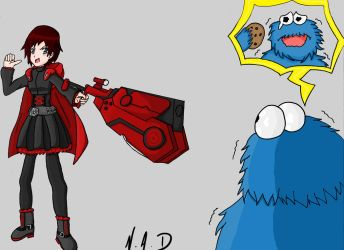 Ruby Rose ' I'm sorry but... that's MY cookie! ' by YOYO409