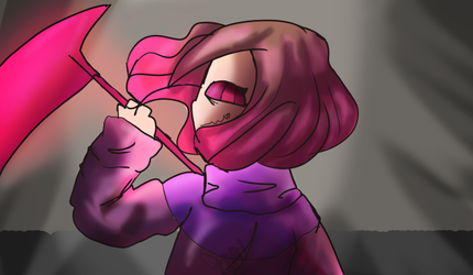 Glitchtale Screenshot Redraw 4 by charareapertale