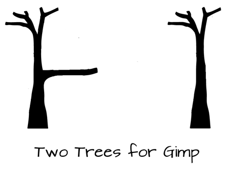 Two Tree Brushes for Gimp by madaline-7