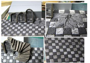 Zombicide decor WIP - 13 janvier 2013 by Arnolf