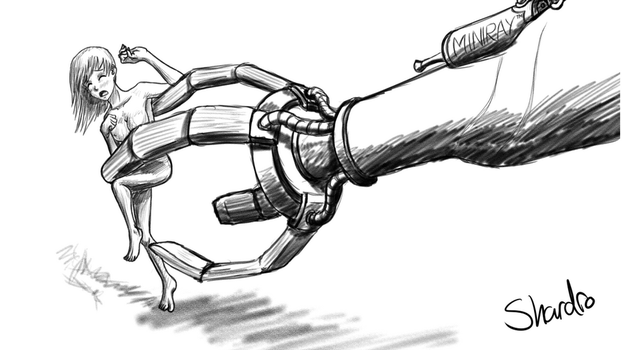 Fill In The Blanks - Robot Claw by Shardro