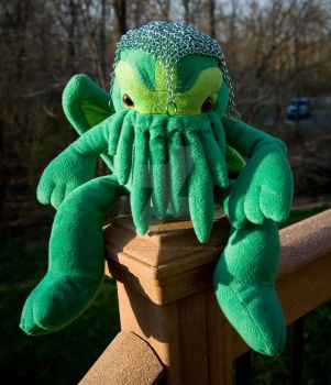 Lu Cthulhu with a Snood! by RavensOwnCurios