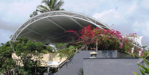 Tensile Fabric Structure by fabchandigarh