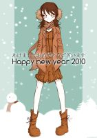 Happy new year 2010 by Nicohitoride