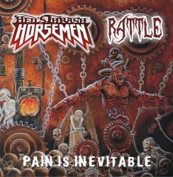 Pain is Inevitable cd cover by valoliveira