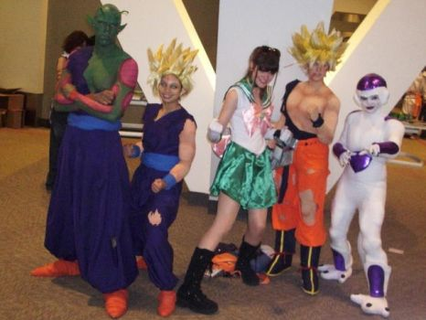 OTAKON 2009: Sailor DBZ by InkkyFikky