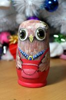Mommy owl front by ItsMyUsername