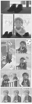 Snow Shoes-page 1 by JesnCin