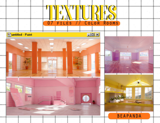 Textures 046 // Color Rooms by BEAPANDA