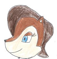 Sally Acorn - face side view by dth1971