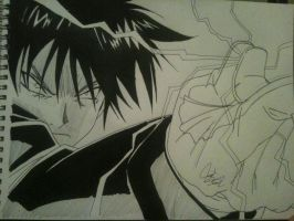 Roy Mustang by DraneAnimation1