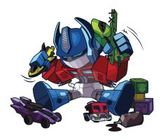 Optimus Plays by jmascia