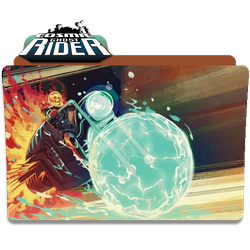 Cosmic Ghost Rider by DCTrad