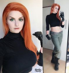 Kim  - Kim Possible by Kinpatsu-Cosplay