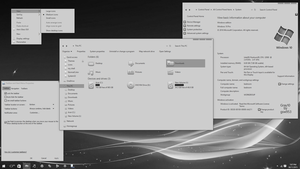 Gray10 Light for Windows 10 Fall Update by gsw953onDA